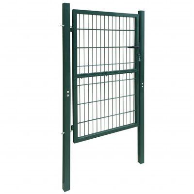 2D Grind (enkel) grön 106 x 190 cm