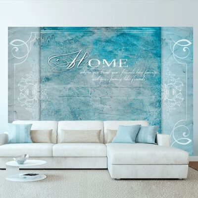 Fototapet - Home, Where You ... - 100x70 Cm