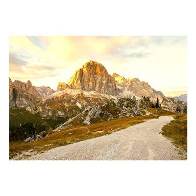 Fototapet - Beautiful Dolomites - 200x140 Cm