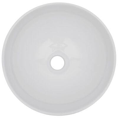 vidaXL Badrumsmöbler 2 delar keramik grå