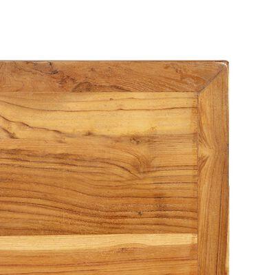 vidaXL Barbord massiv återvunnen teak 120x58x106 cm