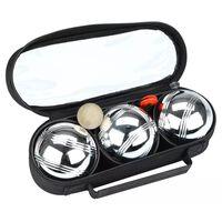 Get & Go Boulespel set III 3 kulor silver CGB 52JO-CGB-Uni