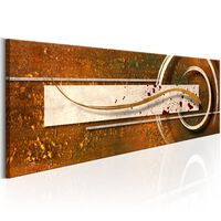 Tavla - Golden Note - 135x45 Cm