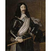 Louis XIII of France,Philippe de Champaigne,50x40cm