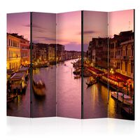 Rumsavdelare - City Of Lovers, Venice By Night Ii   - 225x172 Cm