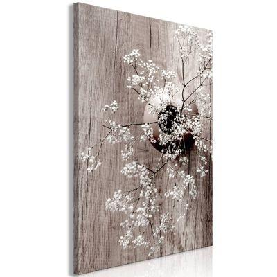 Tavla - Dried Flowers (1 Part) Vertical - 80x120 Cm,