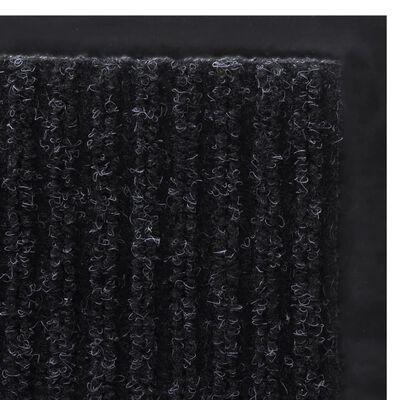 Dörrmatta PVC Svart 90 x 60 cm