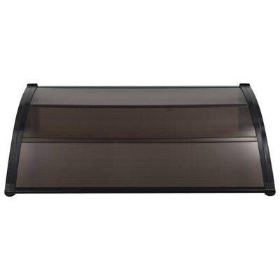 vidaXL Entrétak svart 150x100 cm PC
