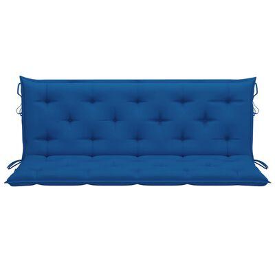 vidaXL Hammockdyna blå 150 cm tyg