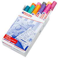 edding Textilpennor 10 st flerfärgad 4500
