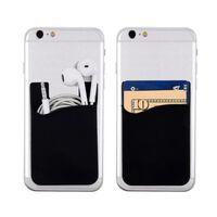3x Silikon socka plånbokskortsmall klistermärke svart