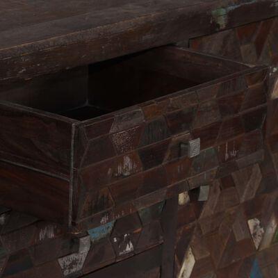 vidaXL Skänk i massivt återvunnet trä 160x40x80 cm,