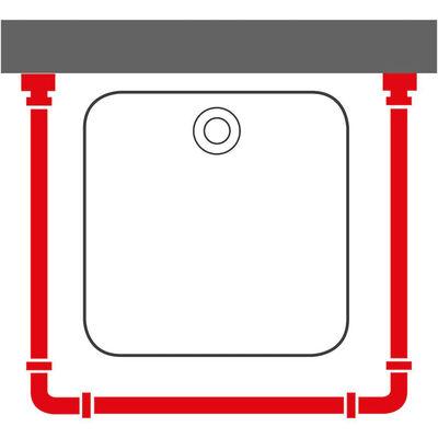 Sealskin Duschdraperistång Easy-Roll matt aluminium