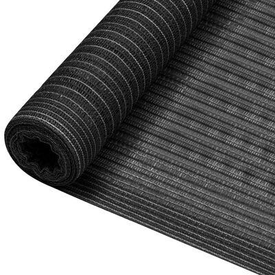 vidaXL Insynsskyddsnät antracit 3,6x10 m HDPE 195 g/m²