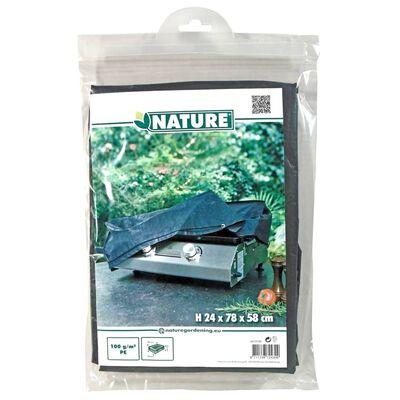Nature Överdrag för plancha-grill 78x58x24 cm