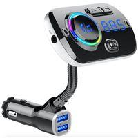 Fm-sändare Med Bluetooth-handsfree Med Stämningsfull Belysning