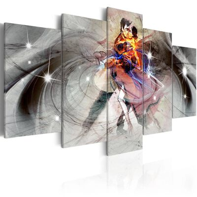 Tavla - Madness Of Love - 100x50 Cm
