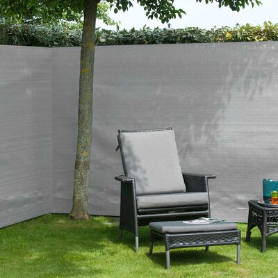 Nature Staketväv PE 1,2x5 m grå