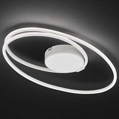 Wofi Taklampa LED Nia 50x12cm vit