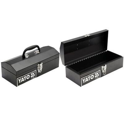 YATO Verktygslåda i stål 360 x 150 x 115 mm