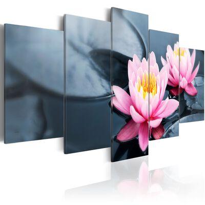 Tavla - Waterlily Dream - 200x100 Cm