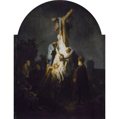 The Descent from the Cross,Rembrandt,50x37cm