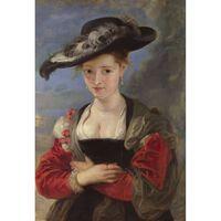 Portrait of Susanne Fourment,Peter Paul Rubens,79x54.5cm