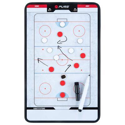 Pure2Improve Dubbelsidig taktikplatta för ishockey 35x22 cm P2I100640