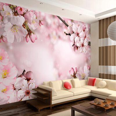 Fototapet - Spring Cherry Blossom - 200x140 Cm