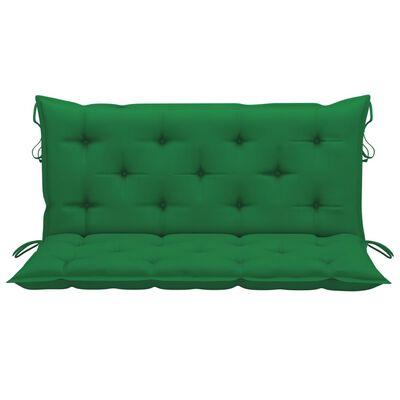 vidaXL Hammockdyna grön 120 cm tyg