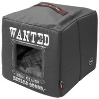 D&D Husdjursbädd Wanted 40x40x40 cm grå 671/432327