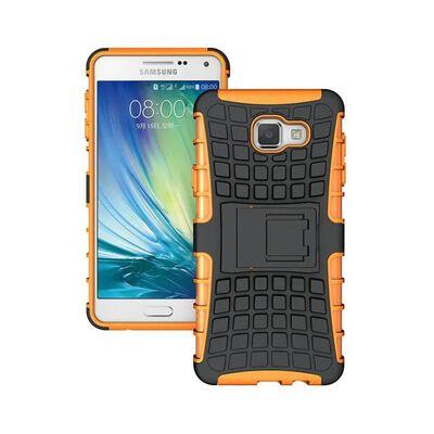 Stöttåligt skal med ställ Samsung Galaxy A5 2016 (SM-A510F) Orange