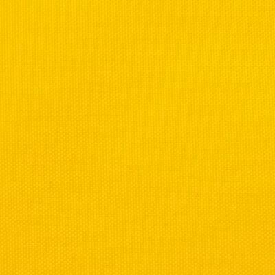 vidaXL Solsegel oxfordtyg trekantigt 4x5x6,4 m gul