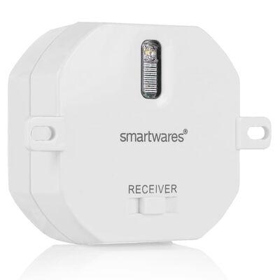 Smartwares Lampknappar set sovrum 8x8x1,7 cm vit