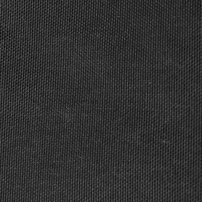 vidaXL Solsegel oxfordtyg fyrkantigt 7x7 m antracit