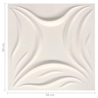 vidaXL Väggpaneler 3D 24 st 0,5x0,5 m 6 m²,