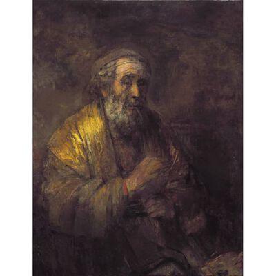 Homer Instructing His Pupils,Rembrandt,50x38cm