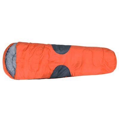 vidaXL Sovsäck orange -5℃ 2000g