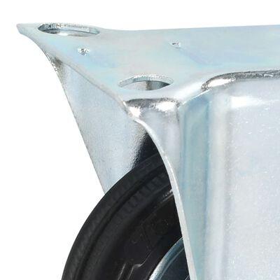 vidaXL Fasta hjul 4 st 75 mm
