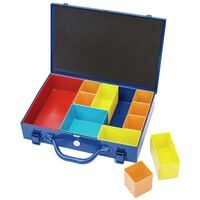 Draper Tools Sortimentlåda 11 delar 32,9x22,5x6,5 cm blå