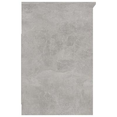 vidaXL Byrå betonggrå 40x50x76 cm spånskiva