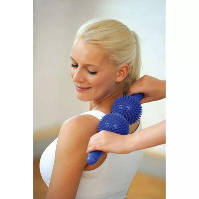 Sissel Taggig dubbel massagerulle blå SIS-162.052
