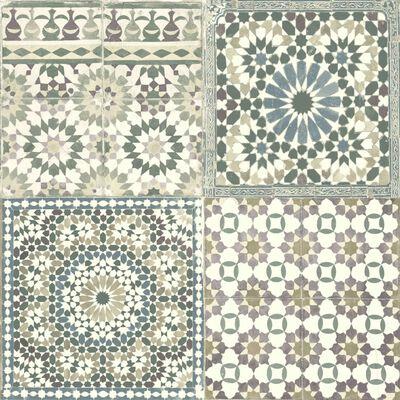 DUTCH WALLCOVERINGS Tapet marockanskt mönster brun