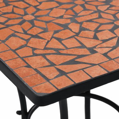 vidaXL Mosaikbord 3 st keramik terrakotta