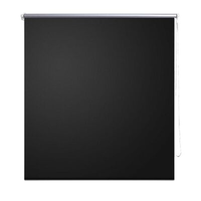 Rullgardin svart 160 x 175 cm mörkläggande