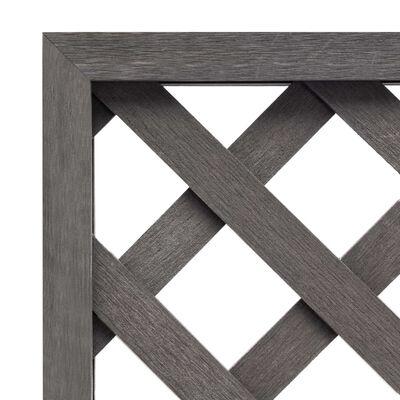vidaXL Spaljé grå 40x170 cm WPC, Grey