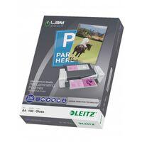 Leitz Lamineringsfickor ILAM 250 mikron A4 100-pack