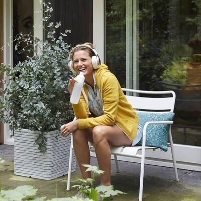 Capi Fyrkantig odlingslåda Nature Row 30x30 cm elfenben KRWI902