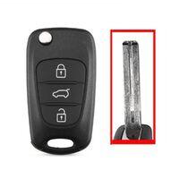 3 knappar avlägsna bilnyckel skal hyundai kombi center spår