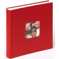 Walther Design Fotoalbum Fun 30x30 cm röd 100 sidor